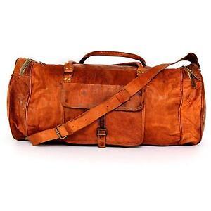 Vintage Leather Weekend Bags