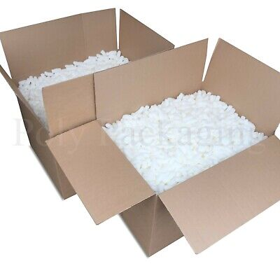 12 Cubic Feet of ECOFLO LOOSE FILL Biodegradable/Void Fill/Packing Peanuts