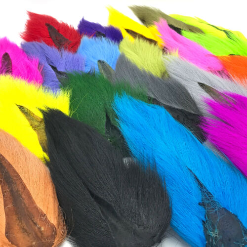 HARELINE LARGE NORTHERN BUCKTAIL - Fly Tying Jigs Teasers Lures Deer Tail Hair