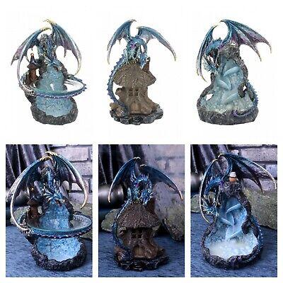 Nemesis Dragon (Nemesis Iridescent Dragon Incense or Oil Burner Ornament Figurine Decor Statue )