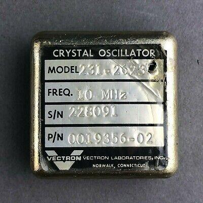 Vectron 10mhz Crystal Oscillator Model231-2623 Pn0019356-02
