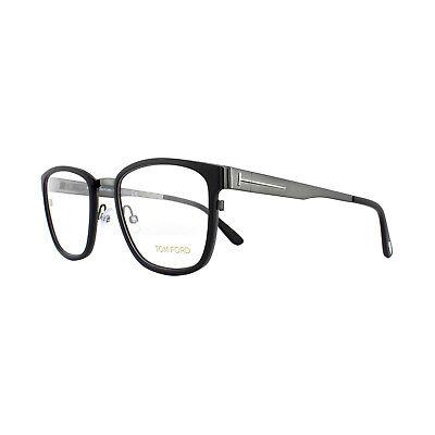 Tom Ford Glasses Frames FT5348 001 Shiny Black 54mm