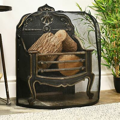 Small Dome Design Curved Fire Guard / Fire Screen / Spark Guard ()