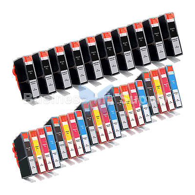 30 Pk 564 564xl Ink Cartridge For Hp Photosmart 7510 7520...