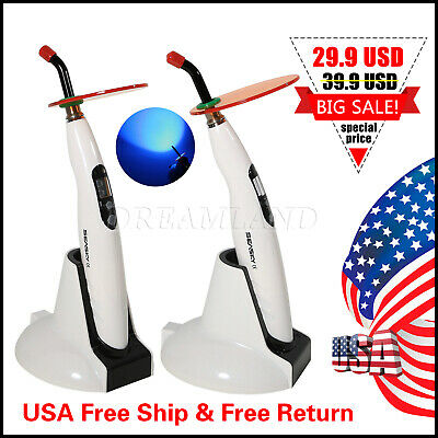 Woodpecker Style Dental Wireless Led Curing Light Lamp Led-b 110-240v 10s Skysea