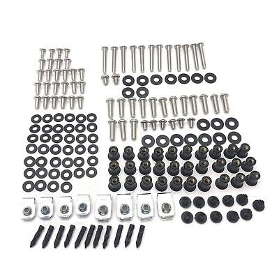 For KAWASAKI Ninja ZX6R ZX-6R 2007-2008 Complete Fairing Bolts Body Screws Kit