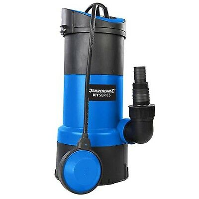 Submersible Water Pump 750w Powerful Fast 13000 ltr/hr Flow Silverline DIY