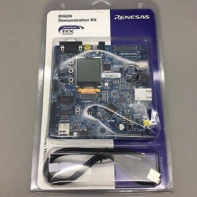 Renesas Rx Yrdkrx63n Demonstration Kit For Rx63n - Fast Free Shipping - B36
