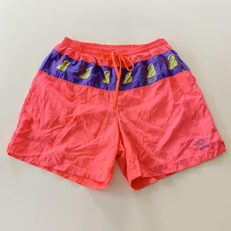 Vintage 80s Umbro Shorts Size XL World Soccer Federation Rare