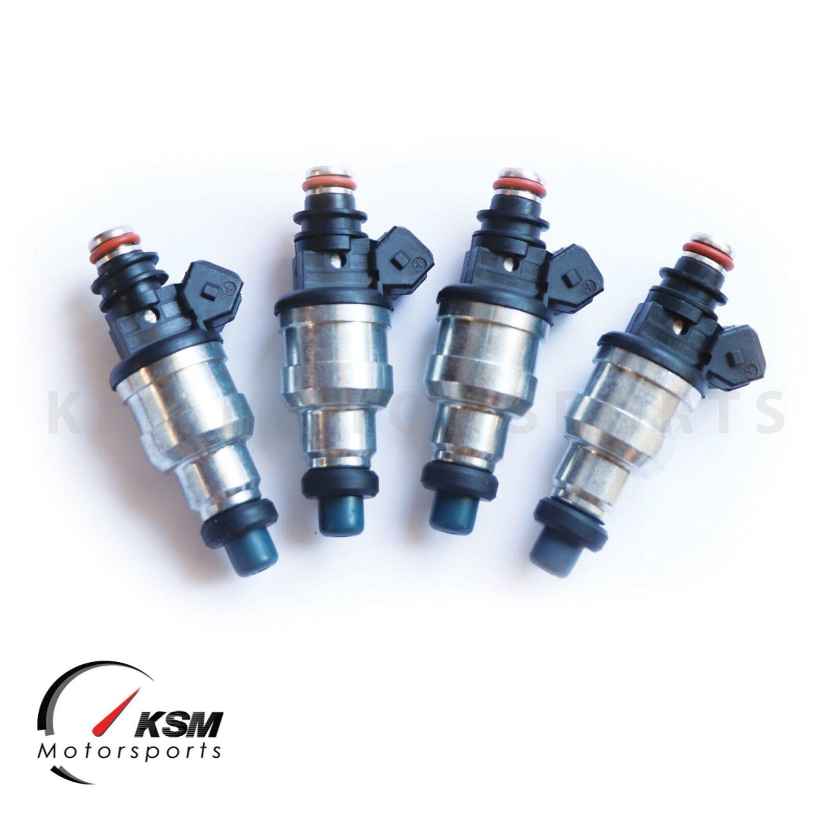 TRE Flowmatched 1200cc High Honda Fuel Injectors B16 B18 D16 D18 F22 H22 VTEC 4