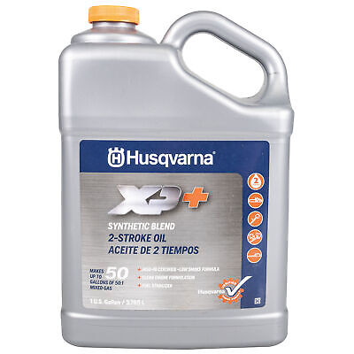 Husqvarna 1GXP One Gallon XP 2 Stroke 2-Cycle Engine Oil Fuel Stabilizer 50:1 2 Stroke Oil 2 Cycle