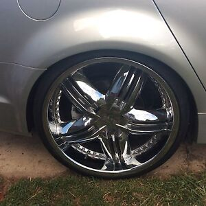 Element  22x9 20x7.5 rims and tyres,mags commodore will fit VF to VC Adelong Tumut Area Preview