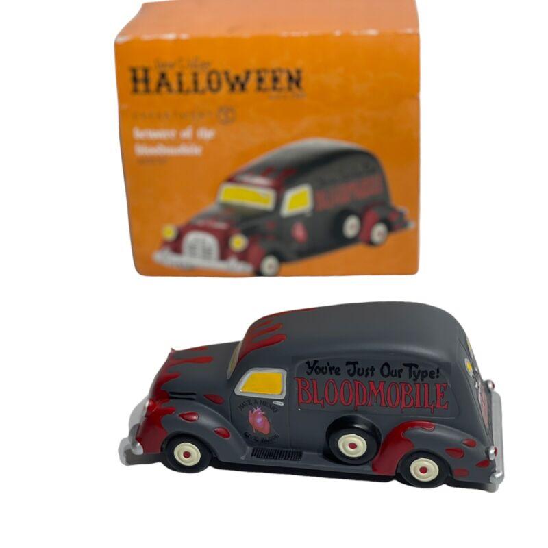 Dept 56 Beware of Bloodmobile Accessory Snow Village Halloween 4030767