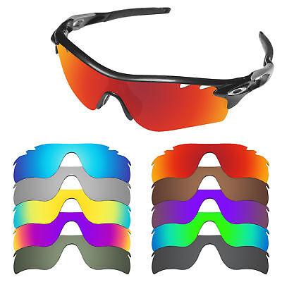 FIT&SEE Ersatzgläser für Oakley Radarlock Path Sonnenbrille | 7 Optionen