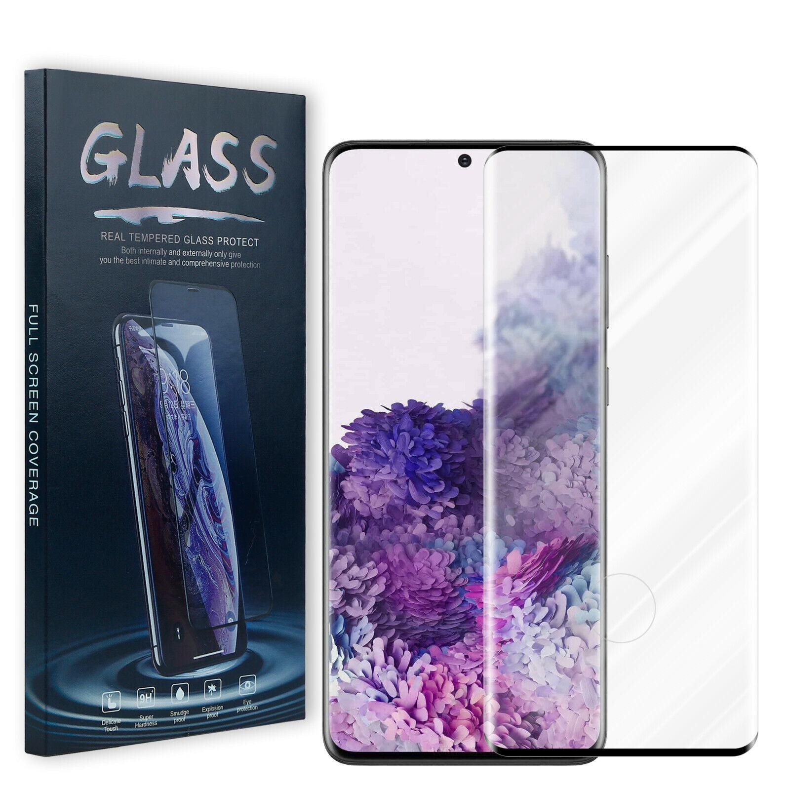 Samsung Galaxy S20 / Ultra/ Plus Displayschutz GLAS Abgerundet Panzerfolie 9H HD