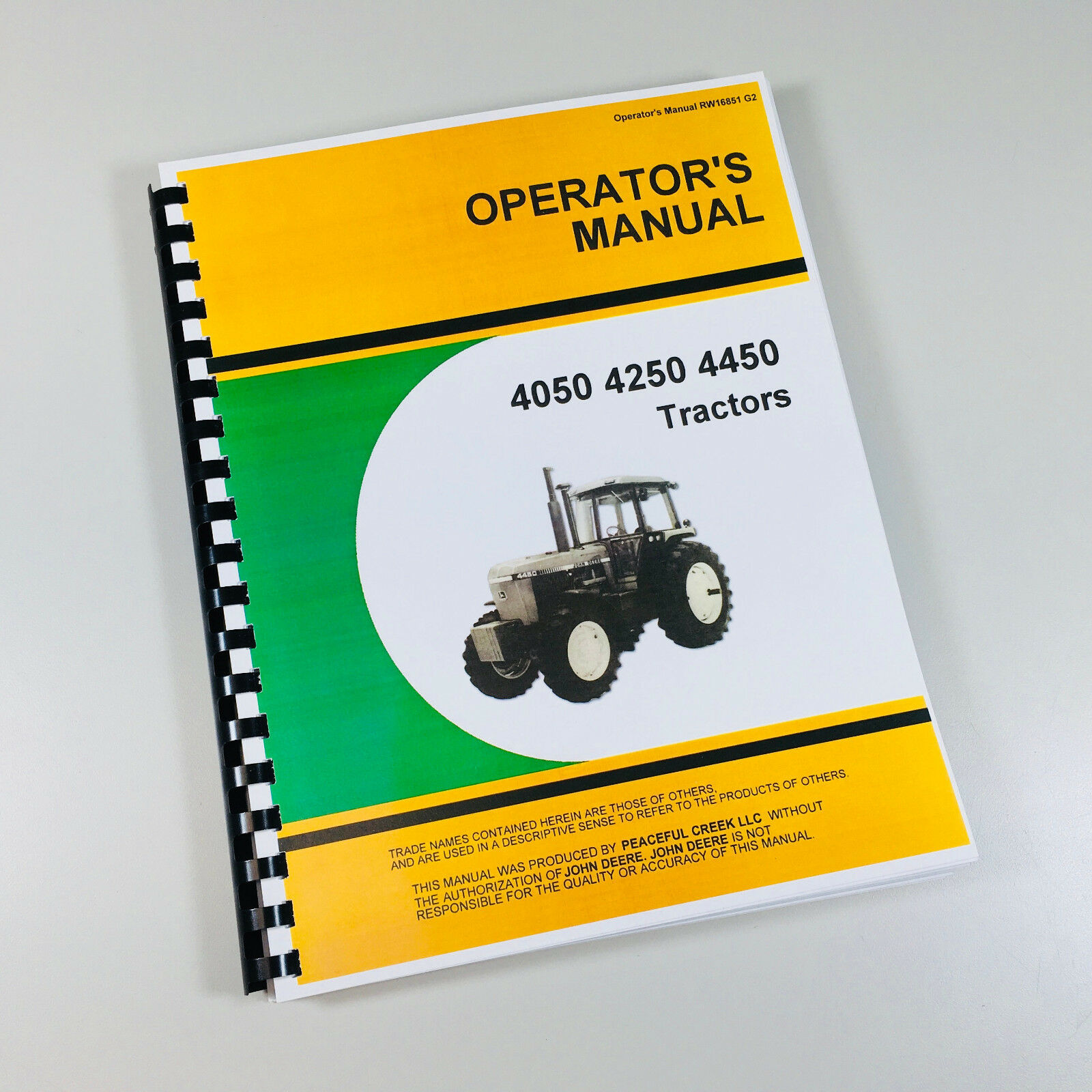 Complete Operators Manual Reproduction of the Factory Manual