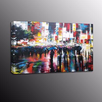 (Canvas Print Banksy Art Street Art Wall Art Painting City night scene Home Decor)