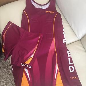 Mayfield (Carina) Netball Uniform Cannon Hill Brisbane South East Preview