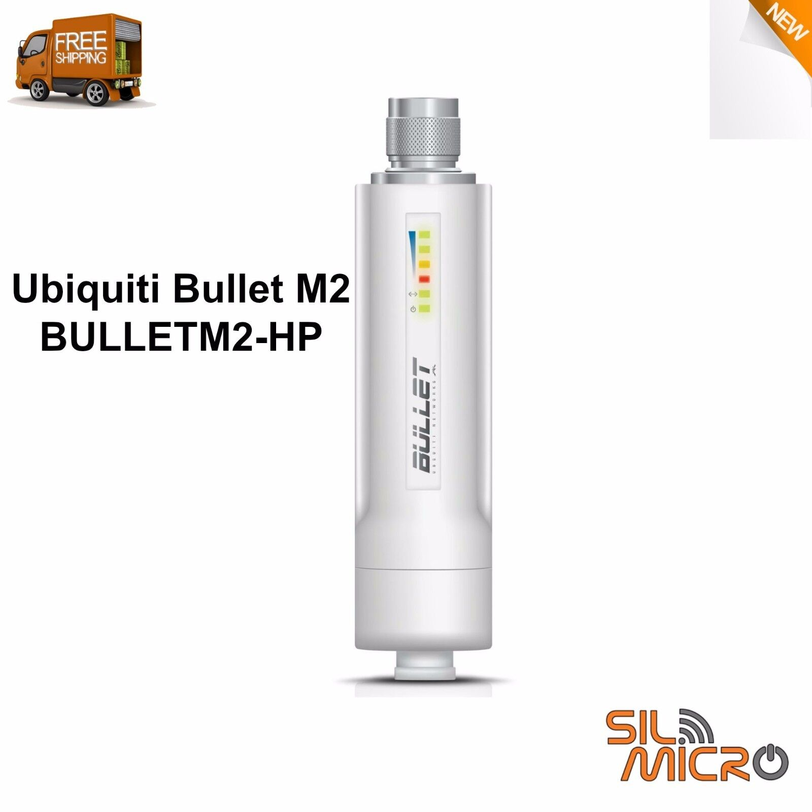 Ubiquiti Bullet Ieee 802.11n 100 Mbps Wireless Bridge - I...