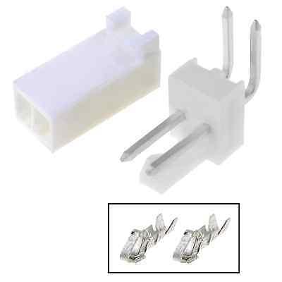 5pcs Molex Connector 2 Pins 90 254mm Tht Mf Arduino Pcb