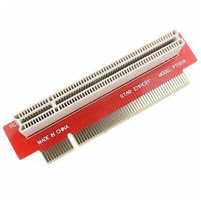 PCI Riser Karte PCI Stecker auf 90° PCI Buchse #a370