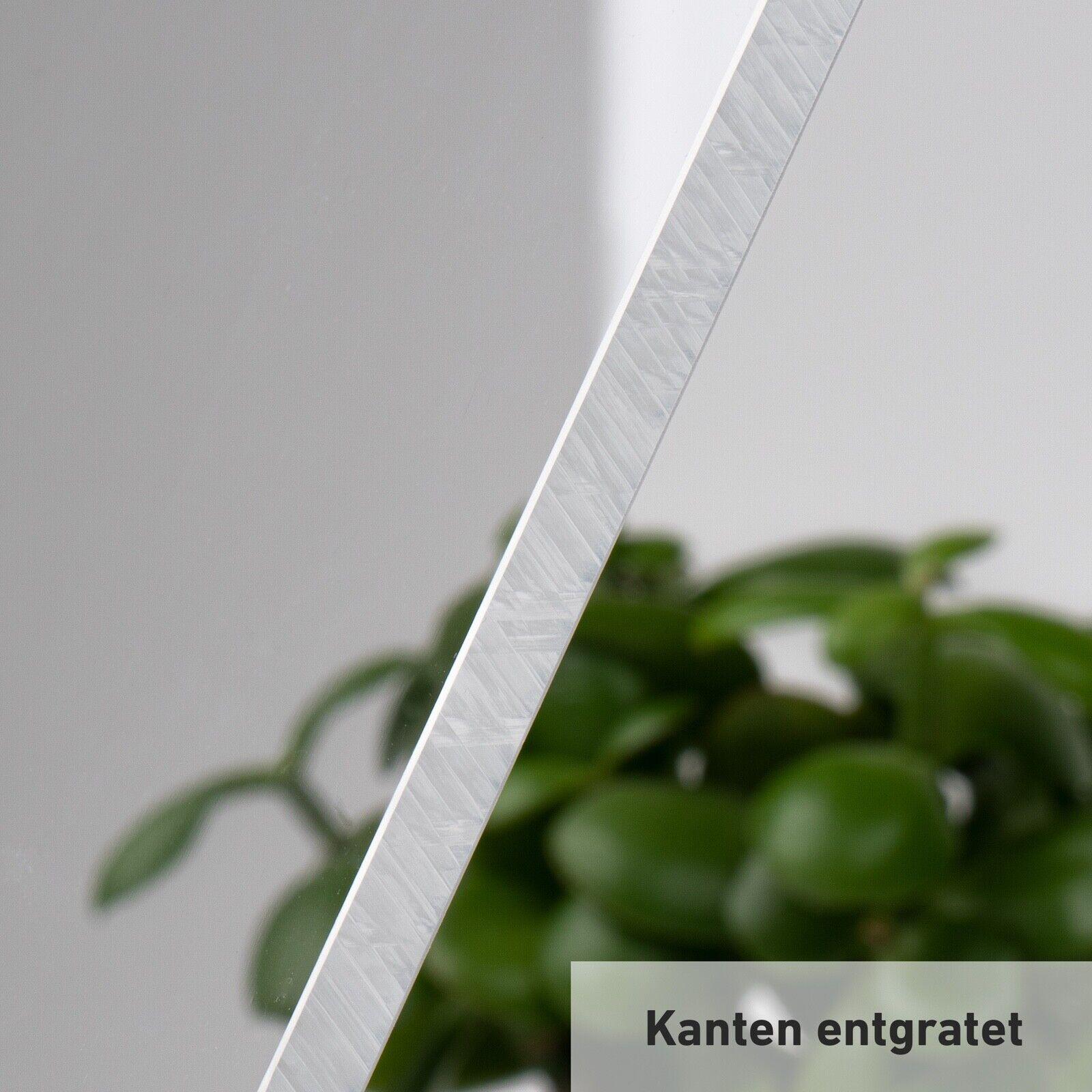 DOLLE Acrylglas XT F/ür Innen und Au/ßen Glasklare Platte in 750 x 250 mm Zuschnitte |St/ärke 2 mm UV-Stabil PMMA | Kanten poliert