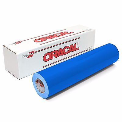 ORACAL 651 Outdoor Permanent Vinyl - LIGHT BLUE 12in x 10ft Roll