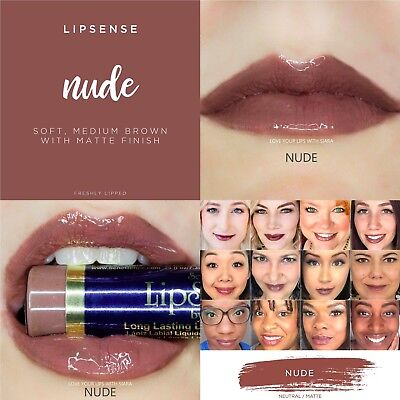 Sale! NUDE by LIPSENSE. GORGEOUS! Free Shipping. Best Deal on