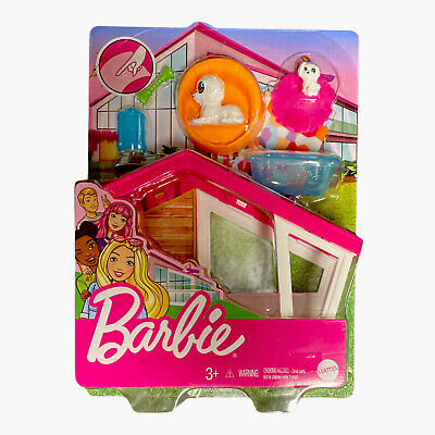 Mattel - Barbie Doghouse and Pet Mini Playset [New Toy] Paper Doll
