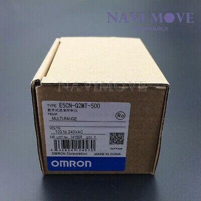 Omron Digital Temperature Controller E5cn-q2mt-500 100-240v New In Box Usa Ship