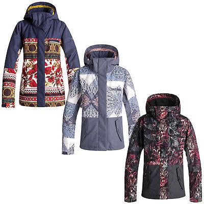 Roxy Jetty Block Jacket Damen-Snowboardjacke Skijacke Winterjacke Wintersport ()