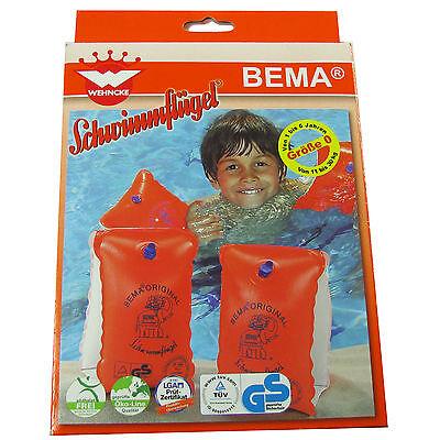 BEMA Schwimmflügel, Größe 0 / 11 - 30 kg / 1-6 Jahre Schwimmhilfe