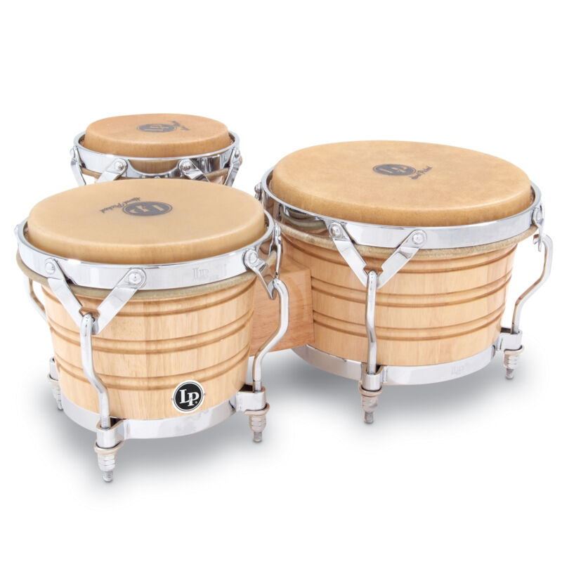 Latin Percussion LP Generation III Triple Wood Bongos