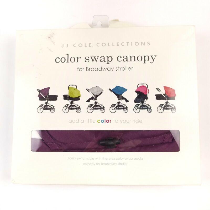 JJ COLE COLOR SWAP CANOPY FOR Broadway STROLLER Purple