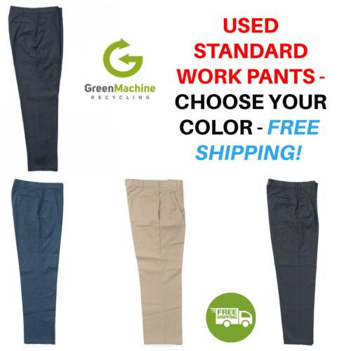 Used Uniform Work Pants Cintas Redkap Unifirst G&k Dickies Etc Free Ship