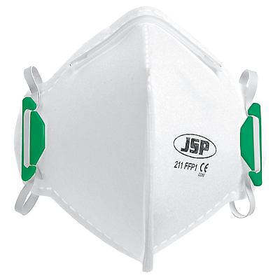 JSP BEA110-001-000 211 OLYMPUS FFP1 Non-Valved FoldFlat Disposable Dust Mask