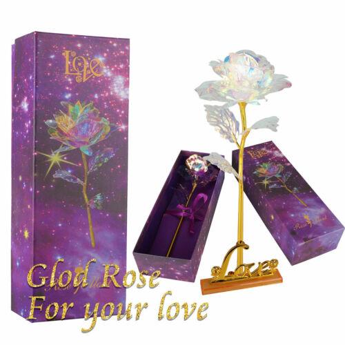 Romantic Galaxy Rose Luminous Flower Valentine
