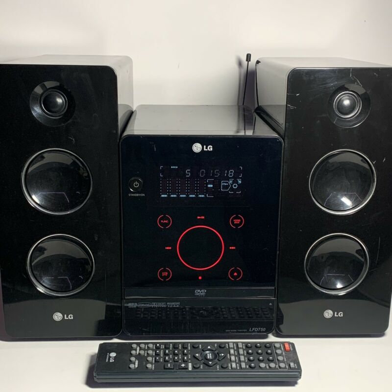 LG LFD750 CD/DVD Mini Home Theater Stereo System With Original REMOTE