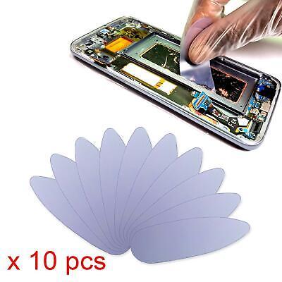 10Pcs Plastic Card Pry Opening Scraper Mobile Phone Glued LCD Screen Repair Tool