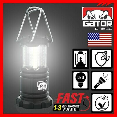 120LED 2000LM Solar Light Camping Lantern BBQ Tent USB Rechargeable Lamp Outdoor
