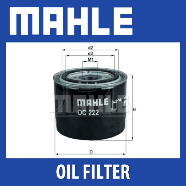 Mahle Oil Filter OC222 (Volvo)