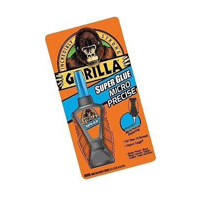 Gorilla Micro Precise Super Glue, 5,5 gram, Clear, (Pack of 1)