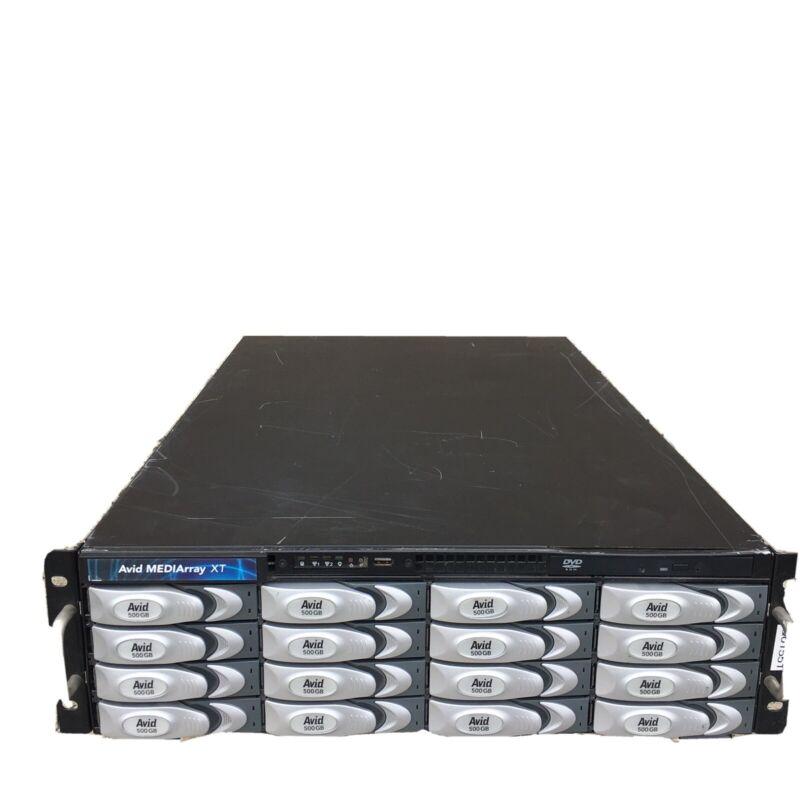 Avid MediArray  XT 8TB Media Storage System w/ 16 x  500 GB Drives