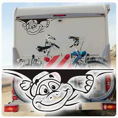 Schildkröte Sticker Auto Aufkleber Wohnmobil  WOMO Hetz mich nicht WoMo050 ()