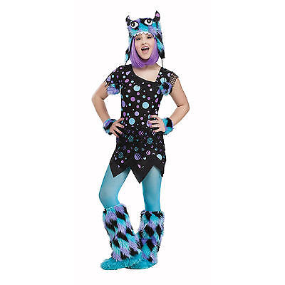 New Teen Blue Fun Dot Monster Totally Ghoul Halloween Costume
