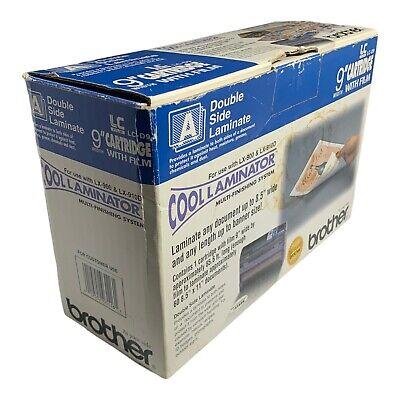 Genuine Brother Lc-d9 Cool Laminator 9 Cartridge Film Adhesive Back Laminate