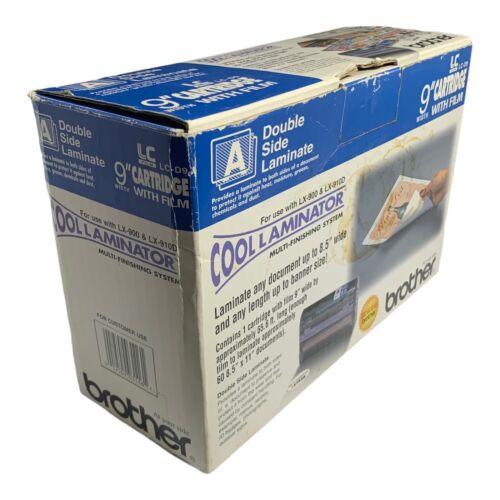 "Genuine Brother LC-D9 Cool Laminator 9"" Cartridge & Film Adhesive Back Laminate"