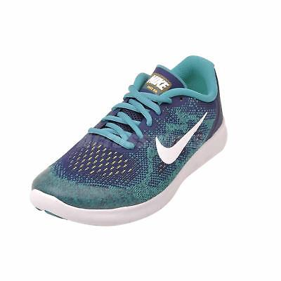 2a3b99af05 Nike Free RN 2017 GS Women's SZ 8/Youth SZ 6.5 Running Shoes Blue 904255