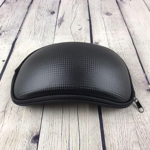 ski goggle protective case black carbon fiber