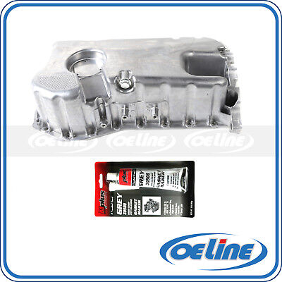 Oil Pan For Vw Jetta Golf 2.8 L Vr6 V6 Engine Lower 021103601L 021 103 601L